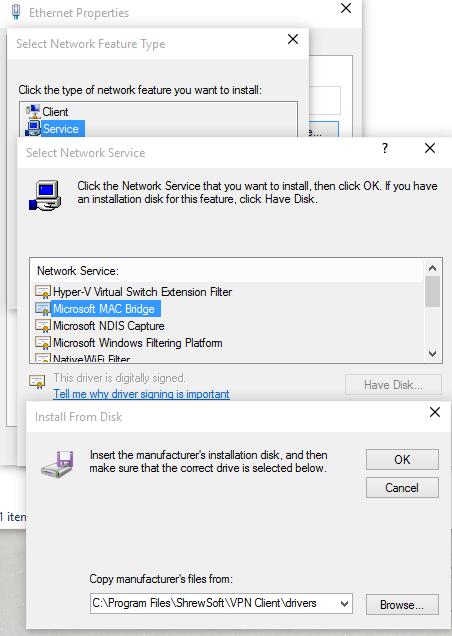 adddriver - Configure Shrew Soft Vpn For Cisco