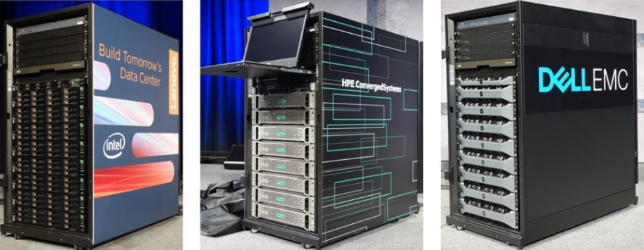 Azure Stack Integrated Systems from Lenovo, HPE and DellEMC
